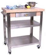 Kitchen Cart with Drawer by John Boos